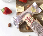White Chocolate Almond 12 pack - Protein Bar