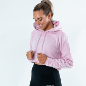 Cropped Rosa LOHILO Hoodie